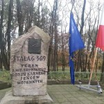 Udział w uroczystym apelu poświęconym ofiarom Stalagu 369